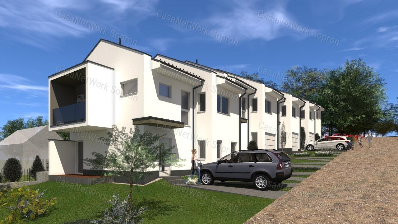 Eladó sorház, Győr-Moson-Sopron megye, Sopron (Pihenőkereszt lakópark) - sz.: 164301718 - CasaNetWork.hu