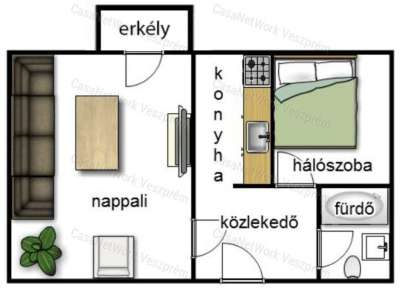 Eladó panellakás - Veszprém (Haszkovó lakótelep) / 5. kép