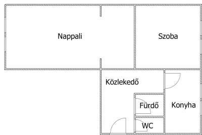 1. emeleti lakás a Jerevánon