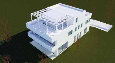 4 lakásos társasház projekt eladó Budapesten a XI. kerületben