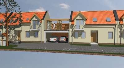 Bánfalvi panorámás 2 szintes családi ház, 2 kocsibeállóval ELADÓ!