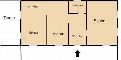 Eladó családi ház - Kisoroszi / 7. kép