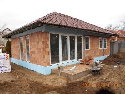 Újépítésű, energiatakarékos ház