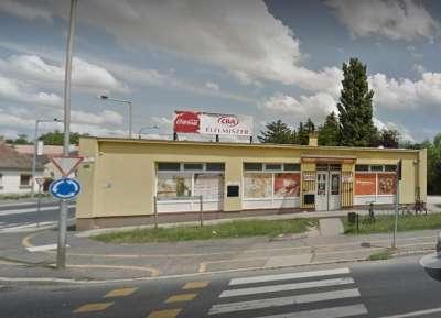 Eladó Győr-Szabadhegyen, forgalmas útszakaszon 358m2 üzlethelyiség.