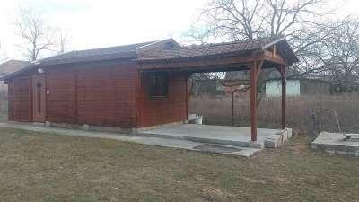 Télen-nyáron lakható faház eladó Pilisen!