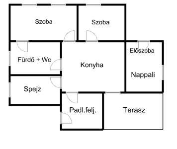 Eladó családi ház - Tápiószele / 7. kép